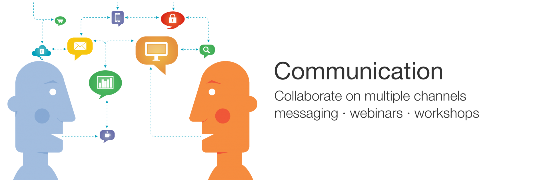 Communication - Collaborate on multiple channels