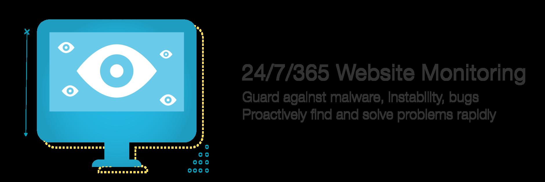 24/7/365 Website Monitoring