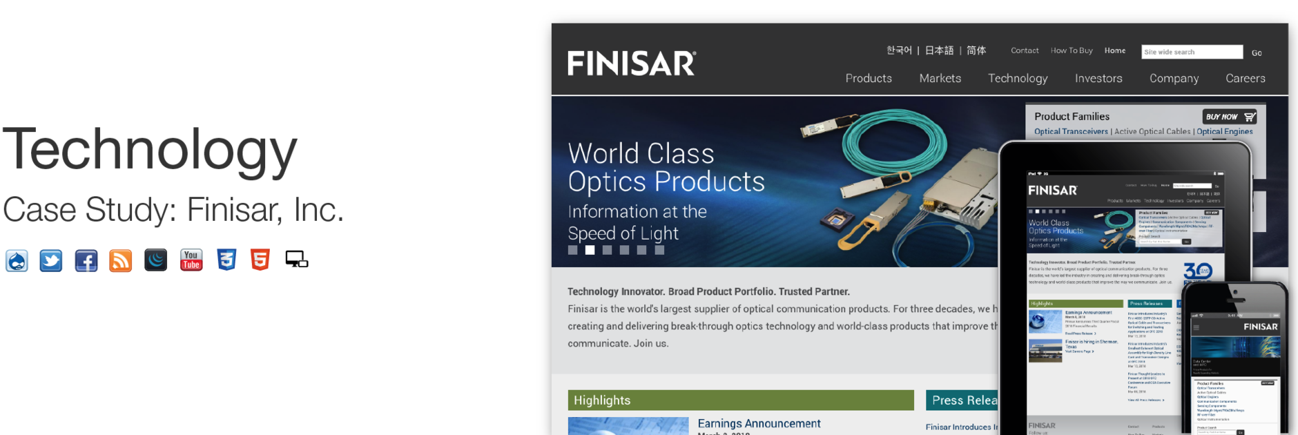 Finisar, Inc.